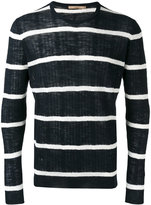 Nuur striped jumper - men - Cotton/Linen/Flax/Polyester - 50