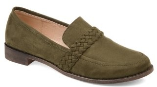 Brinley Co. Women's Comfort Round Toe Flat Loafer