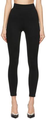Dolce & Gabbana Black Viscose Leggings