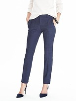 Banana Republic Ryan-Fit Lightweight Wool Solid Pant