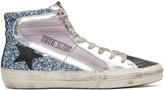 Golden Goose Deluxe Brand Multicolor Slide High-Top Sneakers