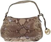 Michael Kors Beige Leather Handbags