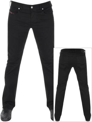 Diesel Zatiny 0688H Bootcut Jeans Black