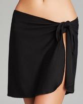 Robin Piccone Rita Side Tie Sarong Swim Cover-Up