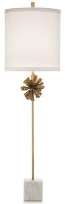 John-Richard Collection 46'' White Buffet Lamp