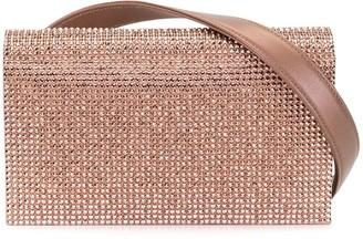 Rene Caovilla Crystal Embellished Belt Bag