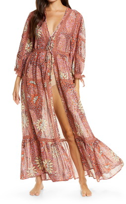 Free People Intimately FP Lace Long Robe