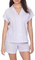 Lauren Ralph Lauren Classic Stripe Woven Pajama Set
