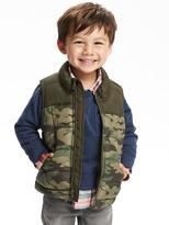 Old Navy Printed Frost-Free Vest For Toddler