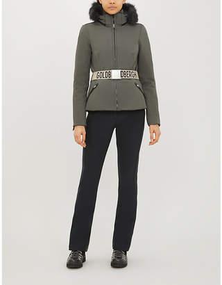 GOLDBERGH Hida faux-fur-trimmed shell-down ski jacket