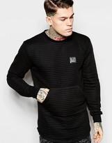 Criminal Damage Longline Sweatshirt