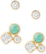 Michael Kors 2-Pc. Set Crystal and Colored Stone Stud Earrings