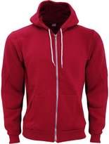 American Apparel Unisex Flex Plain Full Zip Fleece Hoodie (XS)