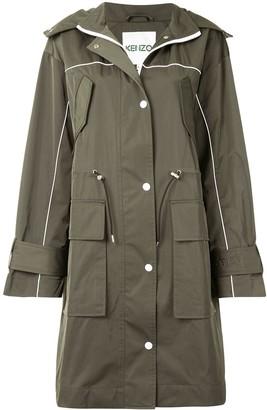 Kenzo Mid-Length Parka Coat