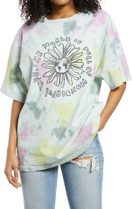 BDG Women's World Is Full Dad Graphic Tee