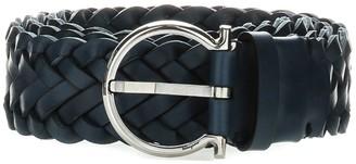 Salvatore Ferragamo Woven Belt