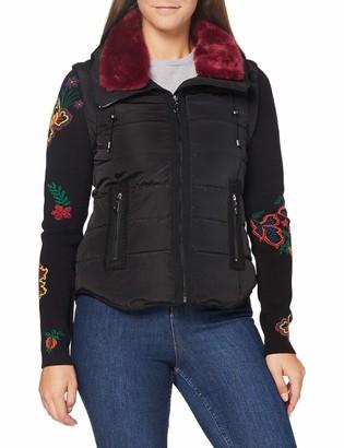 Desigual Women's Padded Short Overcoat
