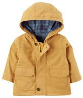 Carter's Baby Boy Hooded Twill Jacket