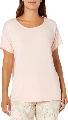 Star Vixen Women's Petite Dolman SLV Hi-Low Hem Easy-Wear Rayon/Span Knit Top