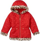 Pacific Trail Girls 4-6x Heart Quilted Jacket