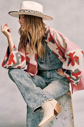 Anthropologie Heidi Kimono Jacket By in Pink Size XS