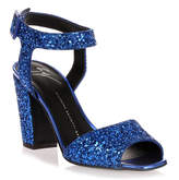 Giuseppe Zanotti Electric blue glitter sandal