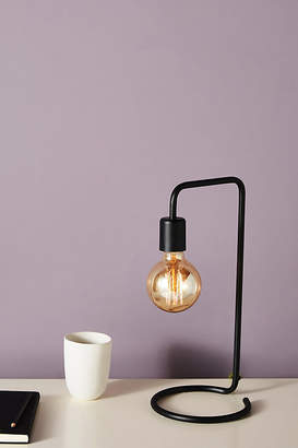 Anthropologie Morgan Desk Lamp By in Black Size ALL