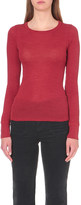 Vanessa Bruno Drizzle wool and silk-blend top