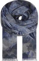 Max Mara Grado marbled silk scarf