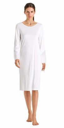 Hanro Women's Alika Long Sleeve Gown