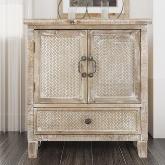 Bungalow Rose Millot 1 Drawer Gentleman's Chest