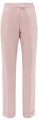 Officine Generale Vera Cotton Poplin Trousers - Light Pink