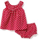 Old Navy 2-Piece Patterned Top and Bloomers Set for Baby