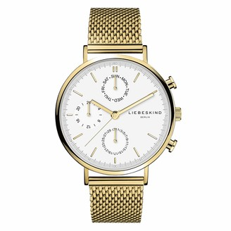 Liebeskind Berlin Womens Multi dial Quartz Watch with Stainless Steel Strap LT-0192-MM