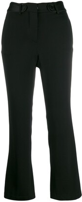 FEDERICA TOSI High-Waisted Slim-Fit Trousers