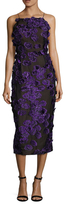 Jason Wu Floral Fil Coupe Sheath Dress