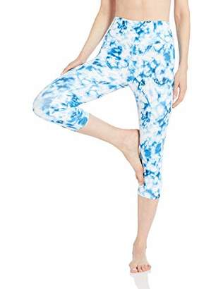 Core 10 Spectrum High Waist Capri Legging-21 Yoga Pants,L (12-14)