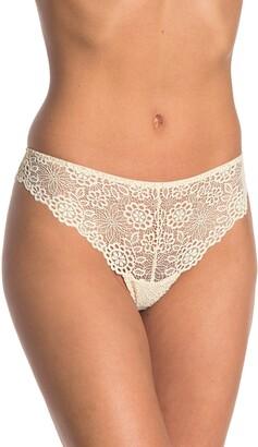 Madewell Eyelet Lace Tanga Panties