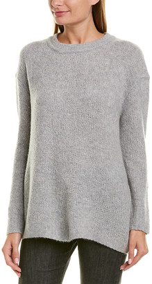 James Perse Oversized Cashmere-Blend Crew Neck