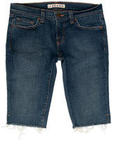 J Brand Knee-Length Denim Shorts