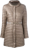 Herno belted padded jacket - women - Feather Down/Polyamide - 42
