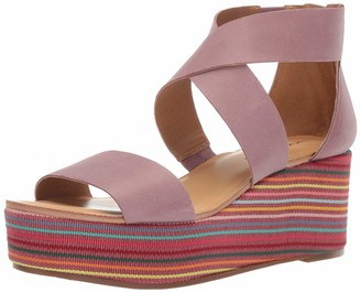 Lucky Brand Women's GWINDOLIN Espadrille Wedge Sandal