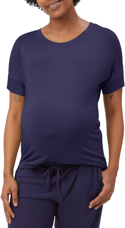 Stowaway Collection Maternity Lounge T-Shirt