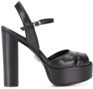 Philipp Plein Platform High Heel Sandals