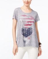 Style&Co. Style & Co Graphic Print T-Shirt, Only at Macy's