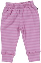 City Threads Striped Cuffed Baby Pants (Baby) - Medium Pink-12-18 Months