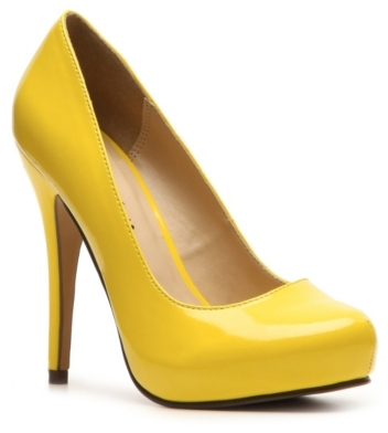 Michael Antonio Love Me Bright Patent Platform Pump