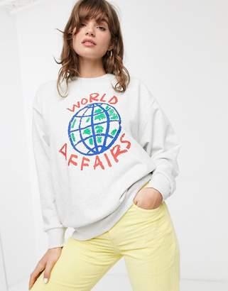 Carhartt Wip World affairs sweatshirt