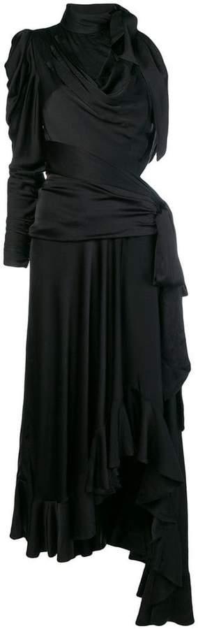 Zimmermann draped cut out long dress