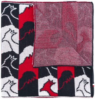 Rossignol Abscisse patterned scarf